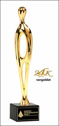 Bild von Contemporary Sales Award 24K vergoldet